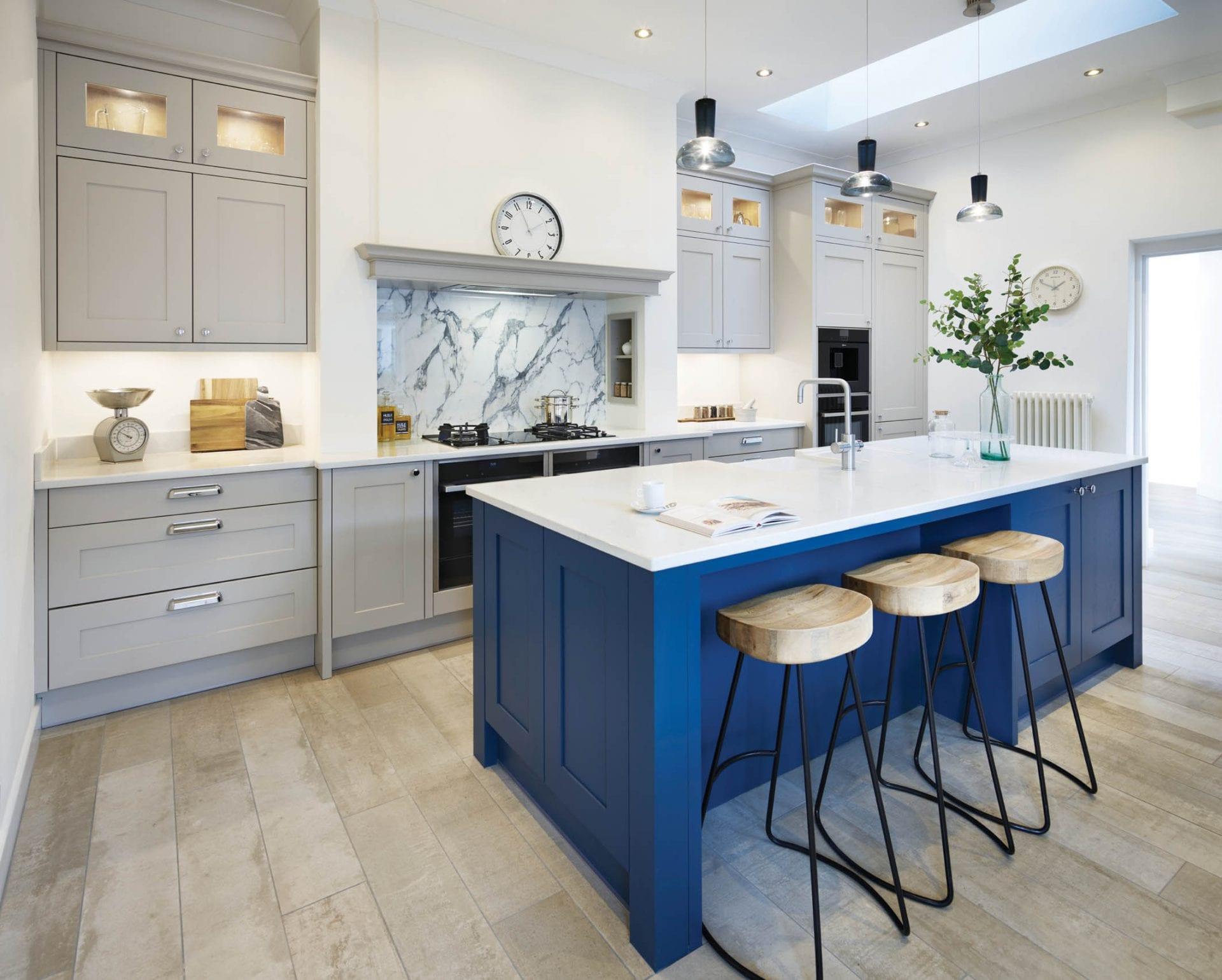 Blue Kitchen Colchester